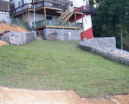 Smith Lake Gabion Wall, Alabama